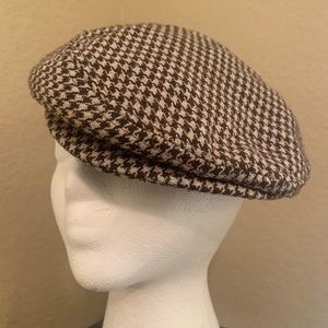 Houndstooth Drivers Cap O/S